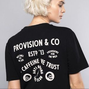 """P&Co Tops - NEW """"In Caffeine We Trust"""" T-shirt ✖️ P&Co"""